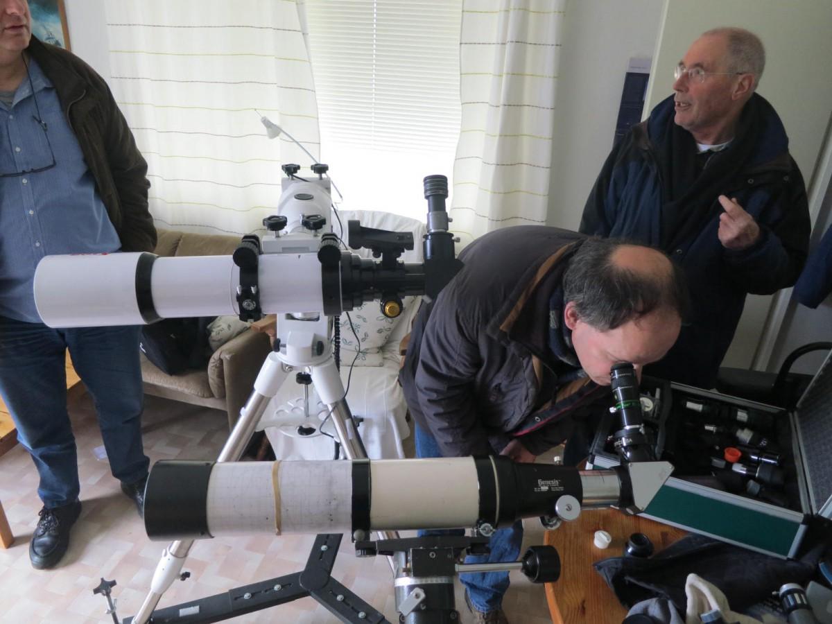 Testing the Kson 100mm f/6 versus the Televue Genesis