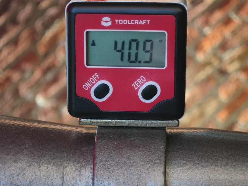 Toolcraft inclinometer
