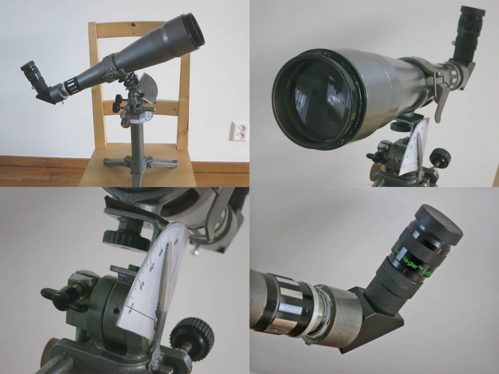 Polarex 80mm spotting scope